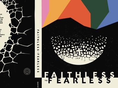 F2F christian shapes texture illustration minimal faithless book art book cover