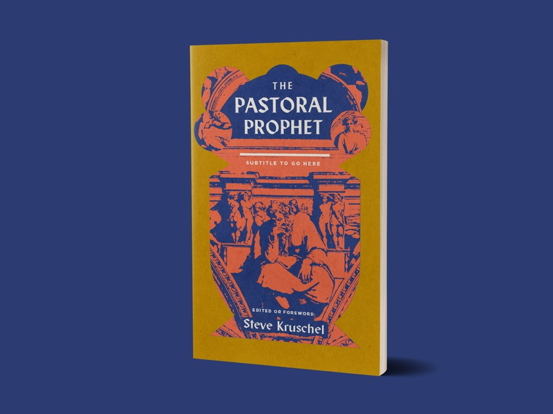 1517 The Pastoral Prophet R1 iconography textures prophet jeremiah theology books book design book cover book design christian illustration texture minimal