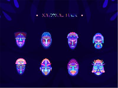 Masks Icon design mask illustrations icon