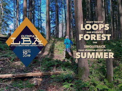 LBA Trail Race website web  design