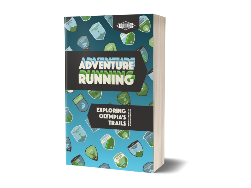 Adventure Running book cover print book cover