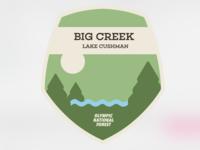 Destination Art - Big Creek, Olympic National Forest