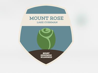 Destination Art - Mount Rose, Olympic National Park book art