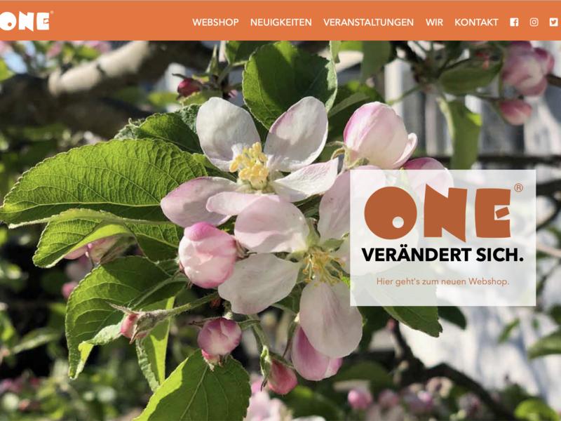 Website for German indie bookstore chain website web