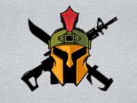 Airsoft Spartan Logo Art