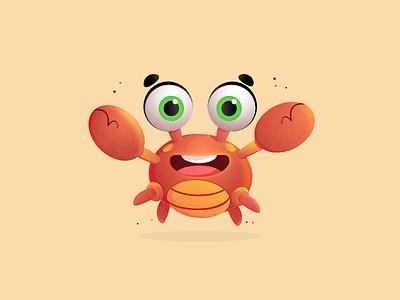 Crab 🦀 vector network lil illustration digital dexter design character cartoon bfs art
