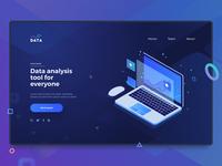 Data Landing Page