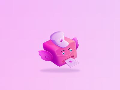 Dribbble Invites invite cute cartoon affinitydesigner dribbble character design vector illustration