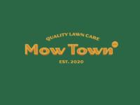 MowTown Concept blue collar heritage vintage retro lettering typography vector brand design lifestyle brand brand identity logo design logo branding