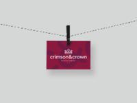 Crimson & Crown Branding: Business Cards