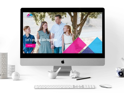 TVWC Site Design homepage design homepage banner website banner website church vector brand typography boise illustration design lifestyle brand brand identity logo design logo branding