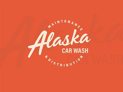 Alaska Car Wash vector typography brand design brand identity logo design logo branding