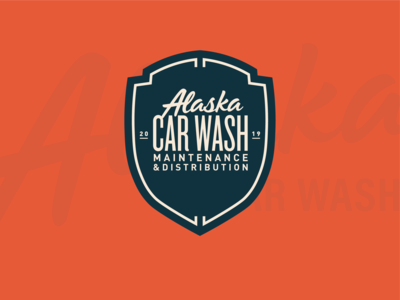 Alaska Car Wash Badge