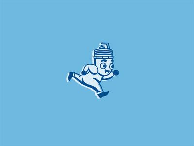 Spark Plug Mascot