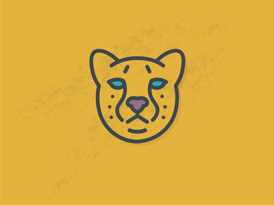 Cheetah Logo animal illustration animal logo cat cheetah animal icon vector illustration brand design lifestyle brand brand identity logo design logo branding