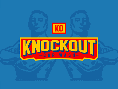 Knocked out Knockout fighter boxer boxing wrestler vector typography illustration brand design lifestyle brand brand identity logo design logo branding