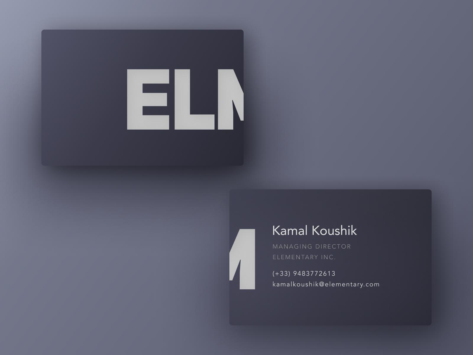 Business card mockup figma freebie by kamal kaushik dribbble dribbble business card 4x colourmoves