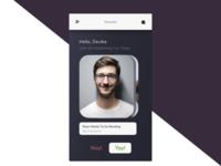 Hangout concept app (figma freebie)