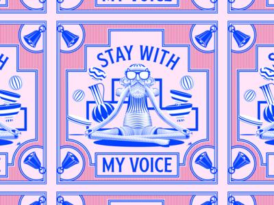 Stay With My Voice illustration art vector illustrator illustration