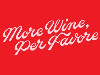 More Wine customtype rebranding branding letteringdesign customlettering lettering