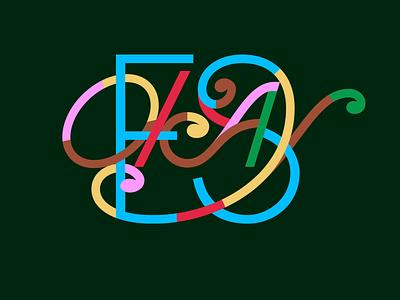 Okay Piece graphic design typographic design monograms lettering design lettering work design logo logotype typography lettering