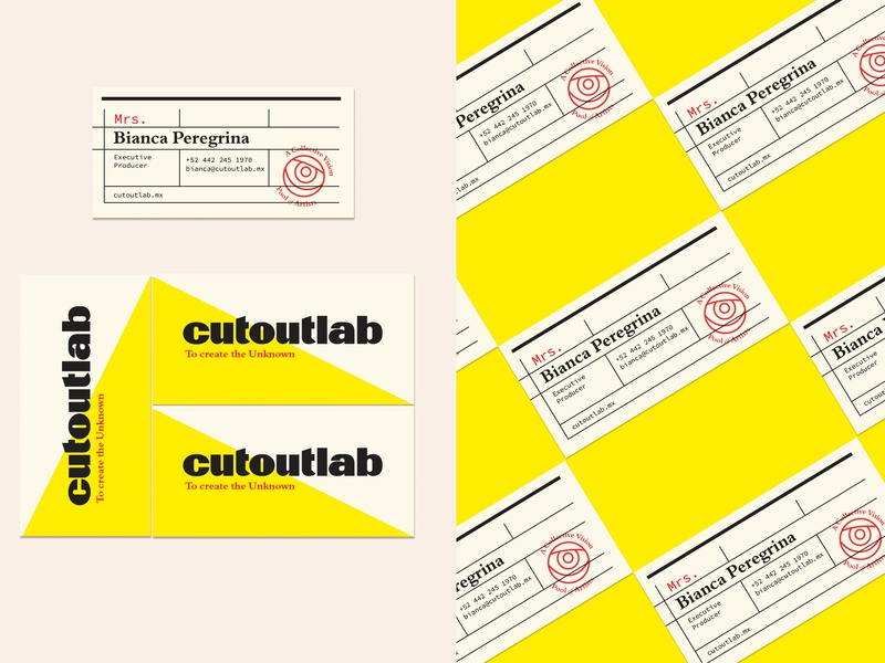 Cutoutlab Cards icon color shceme business card design business card design logo typography logotype