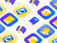 Icons for task manager app