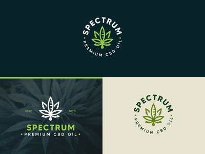 CBD SPECTRUM cbd logoinspiration graphicdesign cbdoil