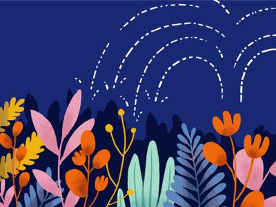 Nurturing Leads editorial illustration intercom