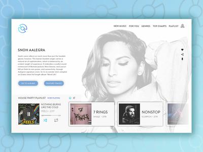 Daily UI Challenge 09 - Music Player