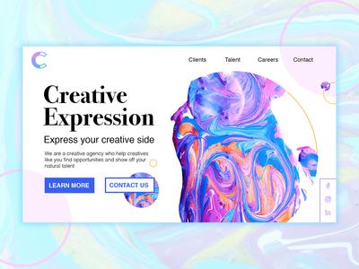 Creative Talent Web Concept