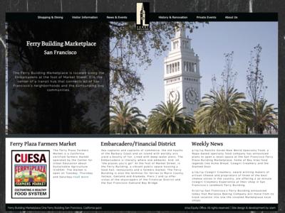 My first website - 2013