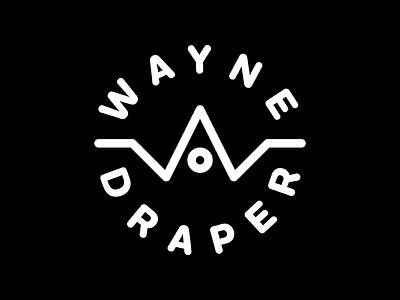 Wayne Draper Brand monoline logo