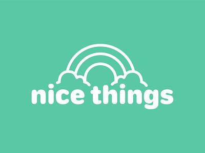 Nice Things App (Main) adobe adobe creative jam logo vector design ui branding