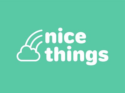 Nice Things App (Alt) adobe adobe creative jam vector logo design ui branding