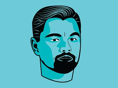 Vector Portrait of Leonardo DiCaprio