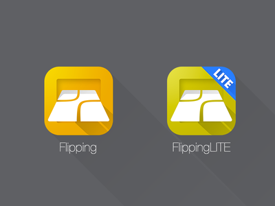 Flipping icons - after ios ios7 icons flat metro long shadow