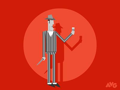 Slim character design villain avant-garde comic