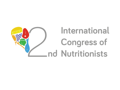 2nd International Congress of Nutritionists visual identity nutritionist nutritionism logo