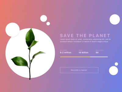 Daily UI - Crowdfunding Campaign