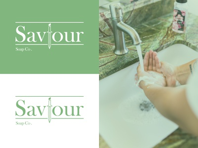 Saviour - Soap brand - weekly warmup branding identity graphic design illustrator design brand logo soap weekly warm-up