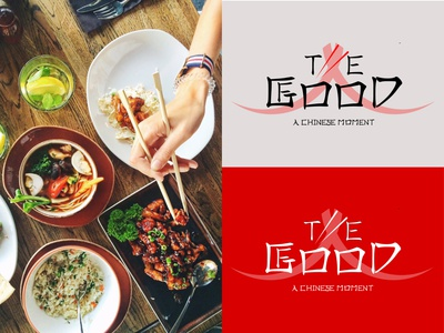 """ THE GOOD FOOD "" Logo"