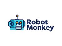Robot Monkey Logo