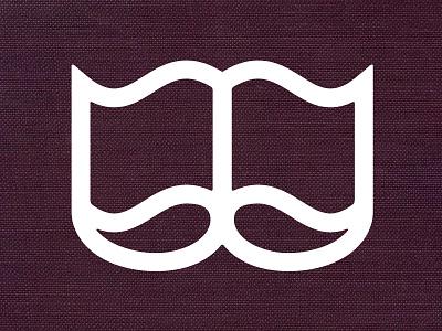 Gentlemen's Book Club - Refined worksonpaper gentlemen book club moustache mustache logo pringles thick lines hipster movember
