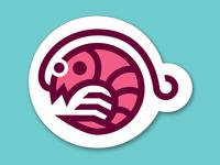 Shrimpy Shrimp: Sticker Design Playoff shrimpy worksonpaper shrimp sticker mule design playoff rebound marketplace