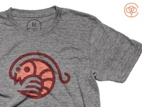 Shrimpy Tee Shirt on Cotton Bureau