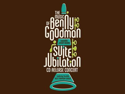 Calgary Jazz Orchestra Poster (Benny Goodman/Suite Jubilation)