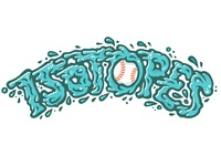 Isotopes Spitball Fan Art