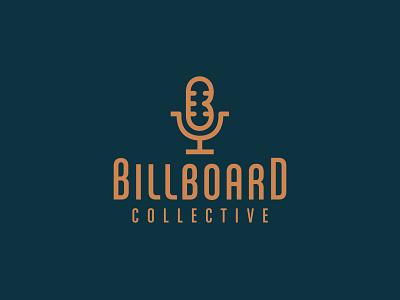 Billboard Collective (Cover Band Logo) microphone logo band