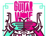 Guitarwolf poster proof f